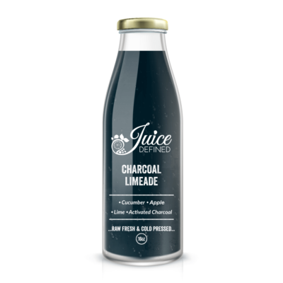 Charcoal Limeade Fresh Cold Pressed Juice
